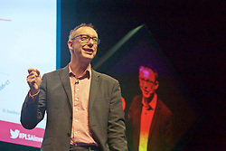 Pictured: <br /> <br /> Paul Johnson, director, Institute for Fiscal Studies, addressed almost 1000 delegates at the Pensions and Lifetime Savings Conference<br /> Terry Murden   EEm 6 March 2019
