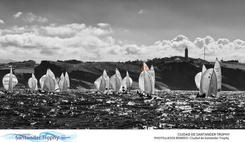 CIUDAD DE SANTANDER Trophy, Isaf sailing World Championships test event. Day 5