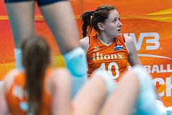20-10-2018 JPN: Final World Championship Volleyball Women day 18, Yokohama<br /> China - Netherlands 3-0 / Lonneke Sloetjes #10 of Netherlands