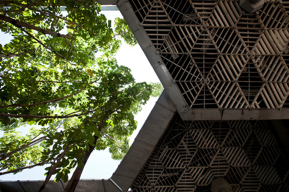 Havana, 01 de Junho de 2011..Museu de La Revolucion. Detalhe da parte aberta.Foto: LEO DRUMOND / NITRO
