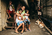 Children and mothers in the Philippines
