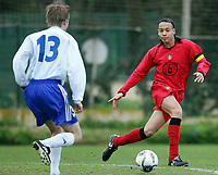 Fotball<br /> La Manga 2006<br /> Landskamp U17 / U17 tournament<br /> Belgia v Finland 4-1 / Belgium v Finland 4-1<br /> 26.02.2006<br /> Foto: Morten Olsen, Digitalsport<br /> <br /> Axel Witsel - Standard Liege