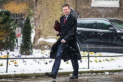 © Licensed to London News Pictures. 01/03/2018. London, UK. Attorney General Jeremy Wright on Downing Street for a meeting of the Cabinet ahead of Prime Minister Theresa May's speech on Brexit. Photo credit: Rob Pinney/LNP