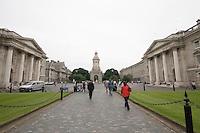 Parliament Square at Trinity College Dublin Ireland