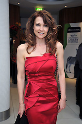 EMMA SAMMS at the launch of the 2009 Derby Festival in the presence of HRH Princess Haya of Jordan in aid of the charity Starlight held at the Kensington Roof Gardens, 99 Kensington High Street, London W8 on 12th May 2009.