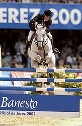 Eriksson Peter, SWE, VDL Cardento<br /> Nations Cup 2<br /> World Equestrian Games Jerez de la Fronteira 2002<br /> Photo © Hippo Foto - Dirk Caremans