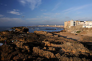 Morocco, Essaouira. Seaside in the late afternoon.