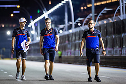 September 19, 2019, Singapore, Singapore: Motorsports: FIA Formula One World Championship 2019, Grand Prix of Singapore, .#10 Pierre Gasly (FRA, Red Bull Toro Rosso Honda) (Credit Image: © Hoch Zwei via ZUMA Wire)