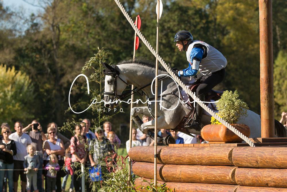 Vanlandeghem Matthieu (FRA) - Trouble Fete Ene HN<br /> Cross country 7 years old horses<br /> Mondial du Lion - Le Lion d'Angers 2014<br /> &copy; Dirk Caremans<br /> 18/10/14