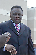 16 August 2008 - Chicago, Illinois -  George Wallace,.Comedian.Bernie Mac Public Memorial.Venue: House of Hope, 752 E 114th St, Chicago, IL, 12pm. Photo Credit: Heather A. Lindquist/Sipa.