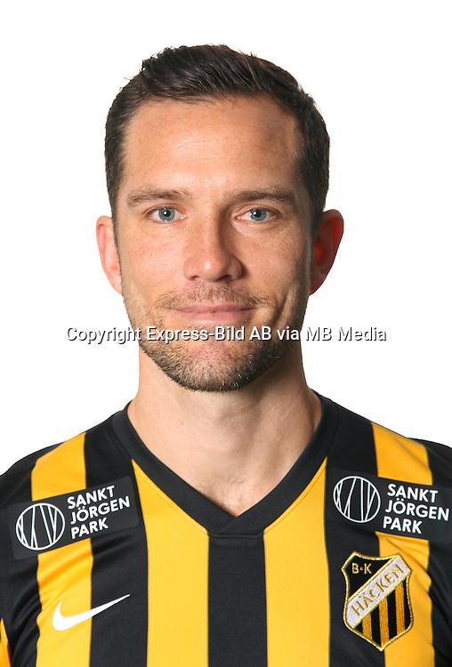 Martin Ericsson<br /> Halvfigur<br /> @Leverans<br /> Allsvenskan 2016<br /> Fotboll