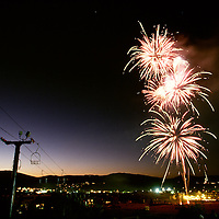 fireworks in Park City