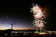 fireworks in Park City, Utah