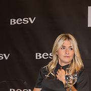 NLD/Amsterdam/20160614 - Contract ondertekening Besv e-bikes en Estavana Polman,