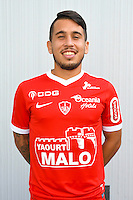 Cristian Battocchio of Brest during the Photo shooting of Stade Brestois in Brest on september 22th 2016<br /> Photo : Philippe Le Brech / Icon Sport