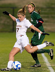 Virginia midfielder/forward Sinead Farrelly (17) ..The Virginia Cavaliers defeated the Loyola (MD) Greyhounds 4-1 in the first round of the NCAA Women's Soccer tournament held at Klockner Stadium in Charlottesville, VA on November 16, 2007.