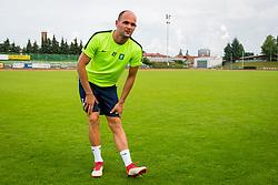 Aris Zarifovic during training of NK Olimpija Ljubljana , on June 13, 2018 in Sports park Siska, Ljubljana, Ljubljana, Slovenia. Photo by Ziga Zupan / Sportida