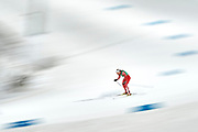 South Korea, PyeongChang - 2018 February 17: Justyna Kowalczyk from Poland competes in Cross-Country Skiing - Ladies' 4 x 5km Relay during The 2018 PyeongChang Olympic Winter Games at Alpensia Cross-Country Skiing Centre on February 17, 2018 in PyeongChang, South Korea.<br /> <br /> Mandatory credit:<br /> Photo by &copy; Adam Nurkiewicz<br /> <br /> Adam Nurkiewicz declares that he has no rights to the image of people at the photographs of his authorship.<br /> <br /> Picture also available in RAW (NEF) or TIFF format on special request.<br /> <br /> Any editorial, commercial or promotional use requires written permission from the author of image.