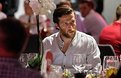 Adam Matthews of Bristol City mingles with guests during the Lansdown Club event - Mandatory by-line: Robbie Stephenson/JMP - 06/09/2016 - GENERAL SPORT - Ashton Gate - Bristol, England - Lansdown Club -