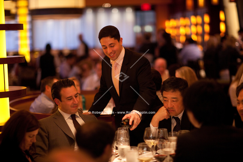 Bar Americain in New York City. .. Photo by Robert Caplin
