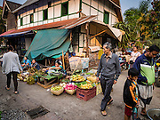 "13 MARCH 2016 - LUANG PRABANG, LAOS: A home being refurbished in the market in Luang Prabang. Many homes like this are being turned into guest houses and boutique hotels. Luang Prabang was named a UNESCO World Heritage Site in 1995. The move saved the city's colonial architecture but the explosion of mass tourism has taken a toll on the city's soul. According to one recent study, a small plot of land that sold for $8,000 three years ago now goes for $120,000. Many longtime residents are selling their homes and moving to small developments around the city. The old homes are then converted to guesthouses, restaurants and spas. The city is famous for the morning ""tak bat,"" or monks' morning alms rounds. Every morning hundreds of Buddhist monks come out before dawn and walk in a silent procession through the city accepting alms from residents. Now, most of the people presenting alms to the monks are tourists, since so many Lao people have moved outside of the city center. About 50,000 people are thought to live in the Luang Prabang area, the city received more than 530,000 tourists in 2014.    PHOTO BY JACK KURTZ"
