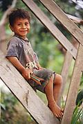Ese'eja Indian Child<br />