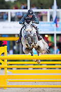 Christopher Surbey - Chilli Pepper Sm<br /> FEI World Breeding Jumping Championships for Young Horses 2016<br /> © DigiShots