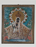 Santuario di Tindari, ex voto custoditi nell'antico santuario.<br /> Tindari sanctuary: ex voto to Black Madonna