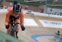 February 28, 2019 - Pruszkow, Poland - Hetty van de Wouw (NED) on day two of the UCI Track Cycling World Championships held in the BGZ BNP Paribas Velodrome Arena on February 28, 2019 in Pruszkow, Poland. (Credit Image: © Foto Olimpik/NurPhoto via ZUMA Press)