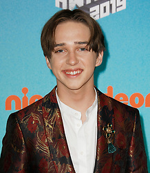 March 23, 2019 - Los Angeles, CA, USA - LOS ANGELES, CA - MARCH 23: Michael Campion attends Nickelodeon's 2019 Kids' Choice Awards at Galen Center on March 23, 2019 in Los Angeles, California. Photo: CraSH for imageSPACE (Credit Image: © Imagespace via ZUMA Wire)