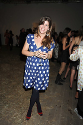 KATE ELLIOT at the Quintessentailly Summer Party at the Phillips de Pury Gallery, 9 Howick Place, London on 9th July 2008.<br />