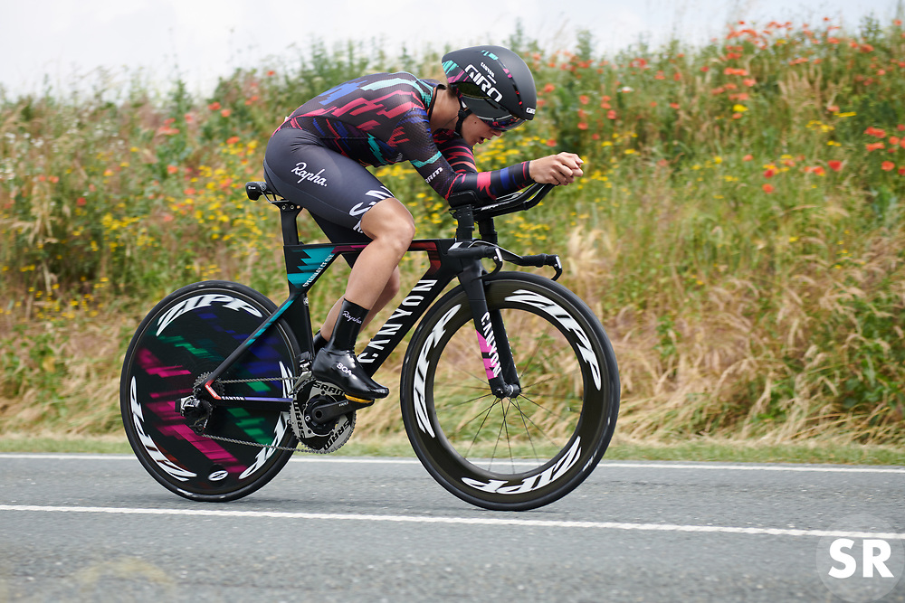Elena Cecchini (ITA) at Lotto Thuringen Ladies Tour 2018 - Stage 7, an 18.7 km time trial starting and finishing in Schmölln, Germany on June 3, 2018. Photo by Sean Robinson/velofocus.com