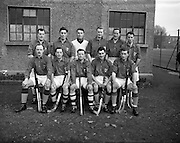 17/01/1953<br /> 01/17/1953<br /> 17 January 1953<br /> Leinster v Ulster Interprovincial Mens Hockey  at Londonbridge Road, Dublin. Ulster won the match 4-2. The Leinster team.