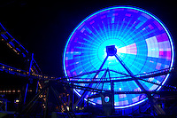 Pacific Park Ferris Wheel, Santa Monica Pier, California