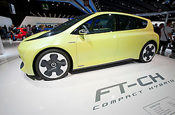 Toyota FT-CH hybrid car at Paris Motor Show 2010