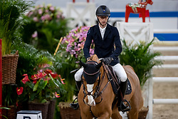 DEVOS Pieter (BEL), Apart<br /> Göteborg - Gothenburg Horse Show 2019 <br /> Longines FEI World Cup™ Final II<br /> Int. jumping competition with jump-off (1.50 - 1.60 m)<br /> Longines FEI Jumping World Cup™ Final and FEI Dressage World Cup™ Final<br /> 05. April 2019<br /> © www.sportfotos-lafrentz.de/Stefan Lafrentz