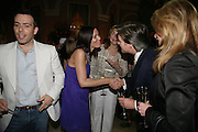 Anahita Resort launch party. Wallace Collection. London. 12 September 2007. ( Photo by Dafydd Jones)  Will Stoppard;Linzi Stoppard;Maureen Sullivan-Smith;Neil Murray -DO NOT ARCHIVE-© Copyright Photograph by Dafydd Jones. 248 Clapham Rd. London SW9 0PZ. Tel 0207 820 0771. www.dafjones.com.