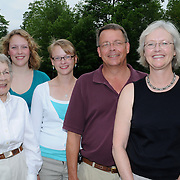 July 9, 2008 -- TOPSHAM, Maine. Birdsall family portraiture -- at Barbara Birdsall's Home at The Highlands. Photo by Roger S. Duncan.