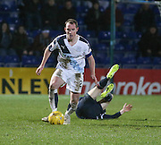 Dundee&rsquo;s Gary Irvine - Ross County v Dundee, Ladbrokes Premiership at Victoria Park<br /> <br />  - &copy; David Young - www.davidyoungphoto.co.uk - email: davidyoungphoto@gmail.com