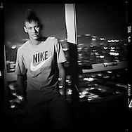Santos, Brazil - June 21, 2011 : Neymar at home, wearing Nike Sportswear.   (Photo:Caio Guatelli)