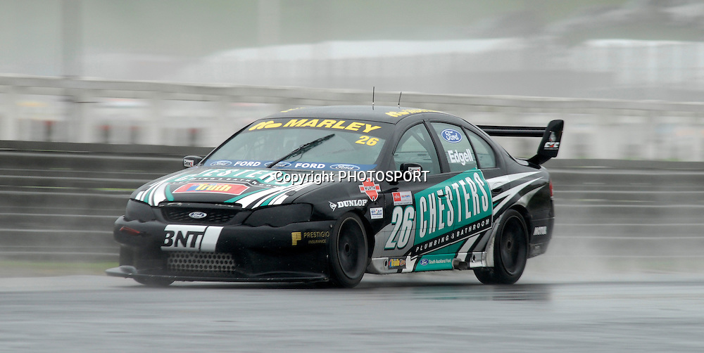 Tim Edgell during Auckland Car Club 75th Anniversary Trophy race, New Zealand Truth V8s Championship, Pukekohe Park Raceway, New Zealand. Sunday 04 November 2007, Photo : William Booth/PHOTOSPORT