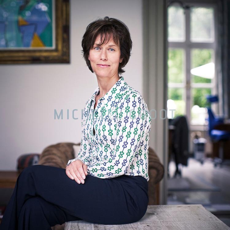 Marieke Bax, directeur van TopBrainStorm op May 26, 2008 in Amsterdam, The Netherlands. TopBrainstorm is in mei 2007 opgericht om als aanjager de overheid, het bedrijfsleven en vrouwen zelf te stimuleren op structurele basis meer vrouwelijk talent aan de top te krijgen. (photo by Michel de Groot)