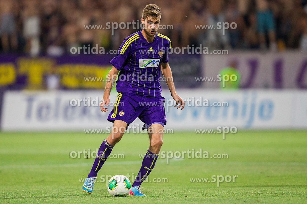 Zeljko Filipovic #5 of Maribor during football match between NK Maribor and APOEL FC, (Cyprus) in Third qualifying round, Second leg of UEFA Champions League 2014, on August 6, 2013 in Stadium Ljudski vrt, Maribor, Slovenia. (Photo by Vid Ponikvar / Sportida.com)