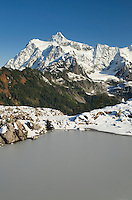 Mount Shuksan 9131 ft / 2783 m seen from Kulshan Rdge, North Cascades Washington