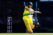 Nicole Bolton of Australia plays a shot during the second women's one day International ( ODI ) match between India and Australia held at the Reliance Cricket Stadium in Vadodara, India on the 15th March 2018<br /> <br /> Photo by Vipin Pawar / BCCI / SPORTZPICS