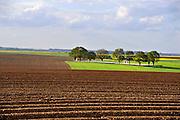Frankrijk, 12-5-2013Serie over de slagvelden aan de Somme in Noord Frankrijk, (de Artois en Picardie). Een kleine Engelse militaire begraafplaats vlakbij Arras. Het slagveld bevond zich ruwweg in de driehoek gevormd door de Franse steden Albert, Bapaume en Péronne.Foto: Flip Franssen/Hollandse Hoogte