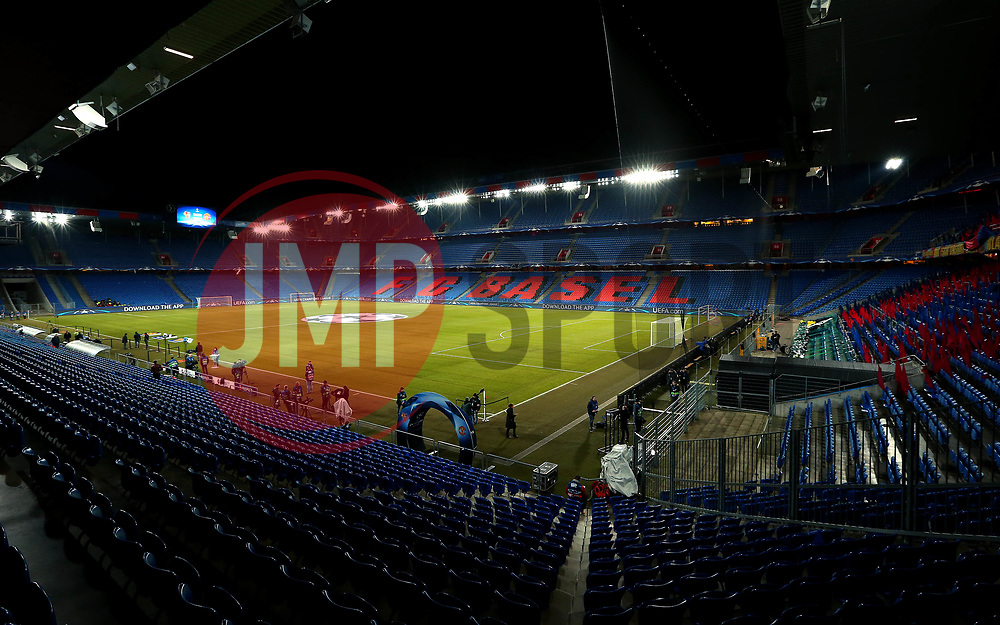 A General View of St Jakob-Park, home of Basel - Mandatory by-line: Robbie Stephenson/JMP - 22/11/2017 - FOOTBALL - St Jakob-Park - Basel,  - FC Basel v Manchester United - UEFA Champions League Group A
