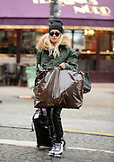 23.JANUARY.2013. PARIS<br /> <br /> RITA ORA SPOTTED BEFORE BOARDING THE GARE DU NORD EUROSTAR TRAIN FROM PARIS TO LONDON<br /> <br /> BYLINE: EDBIMAGEARCHIVE.CO.UK<br /> <br /> *THIS IMAGE IS STRICTLY FOR UK NEWSPAPERS AND MAGAZINES ONLY*<br /> *FOR WORLD WIDE SALES AND WEB USE PLEASE CONTACT EDBIMAGEARCHIVE - 0208 954 5968*