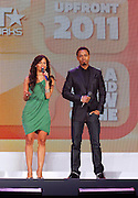 Rocsi and Terrence J attend the 2011 BET Networks Upfront at the Best Buy Theater on April 20, 2011 in New York City.