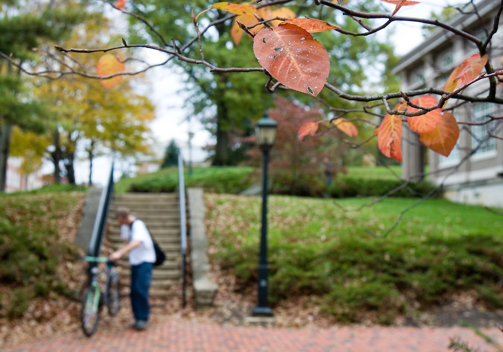 fall colors on campus on Wednesday, 10/17/06.